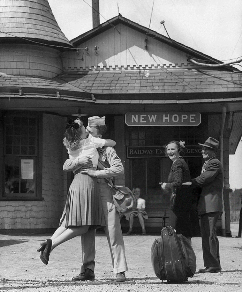 железничка станица, Конектикат, 1945