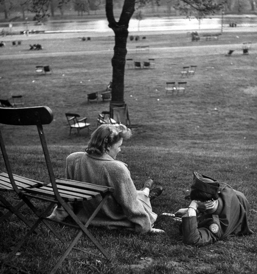 Хајд Парк, 1945