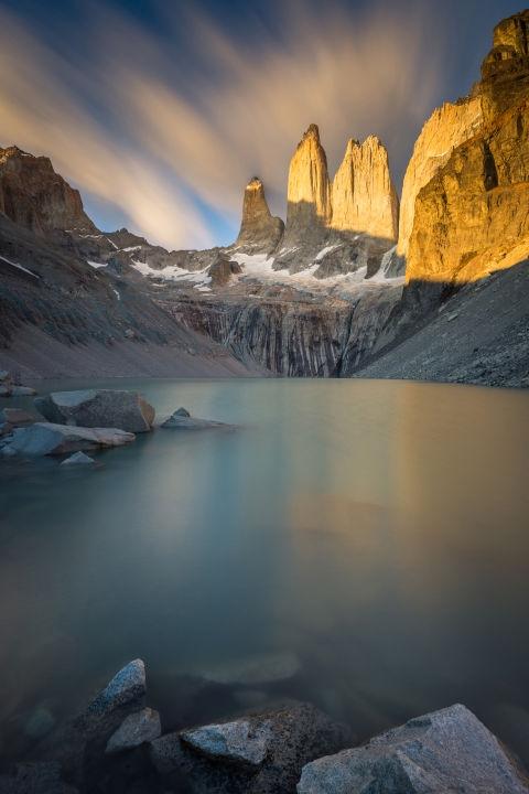 Националниот парк Torres del Paine во Чиле