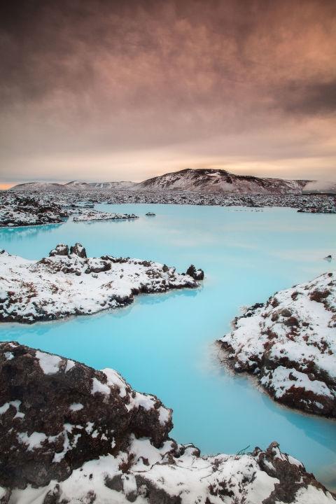 Блу Лагун, Исланд