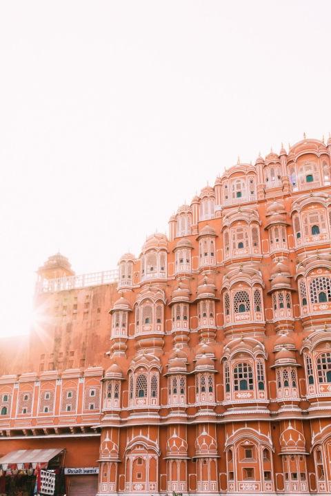 Розовиот град - Индија