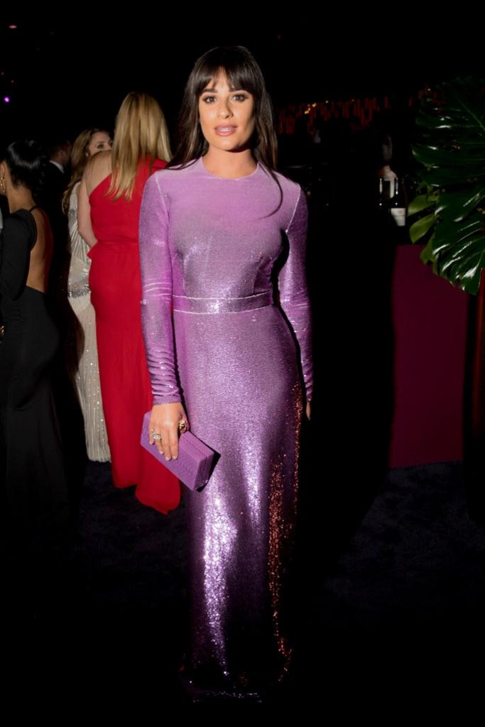 Lea Michele - Emanuel Ungaro