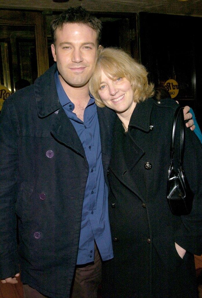 Бен Афлек со мајката Крис
