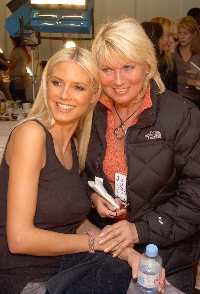 Хајди Клум со мајката Ерна