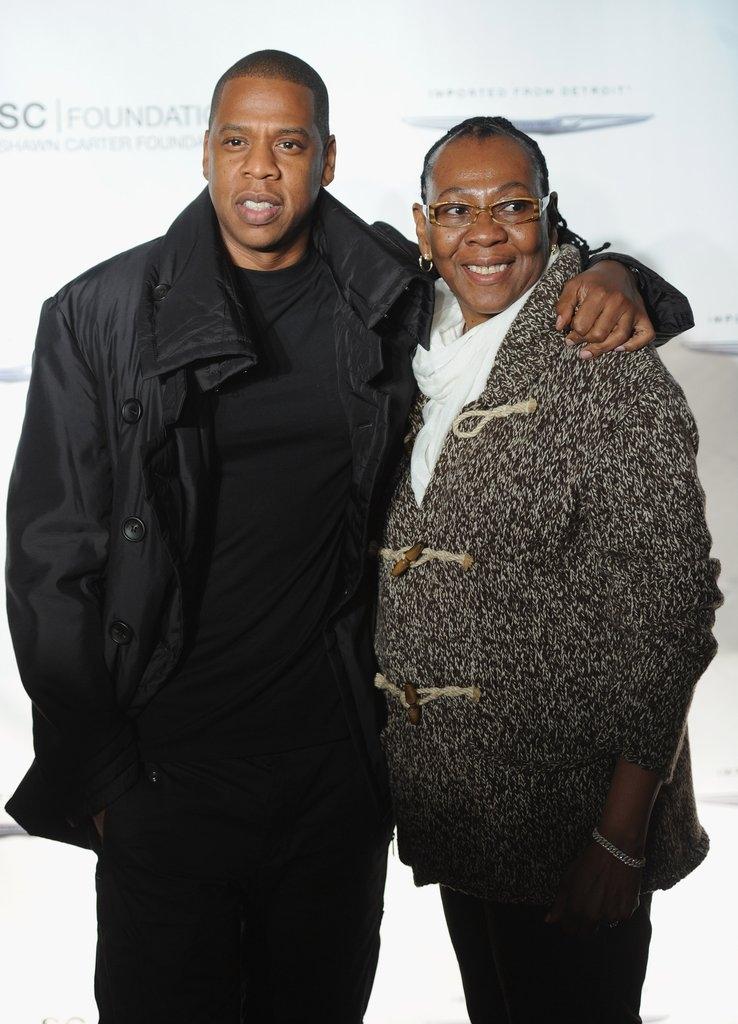 Џеј Зи со мајката Глорија
