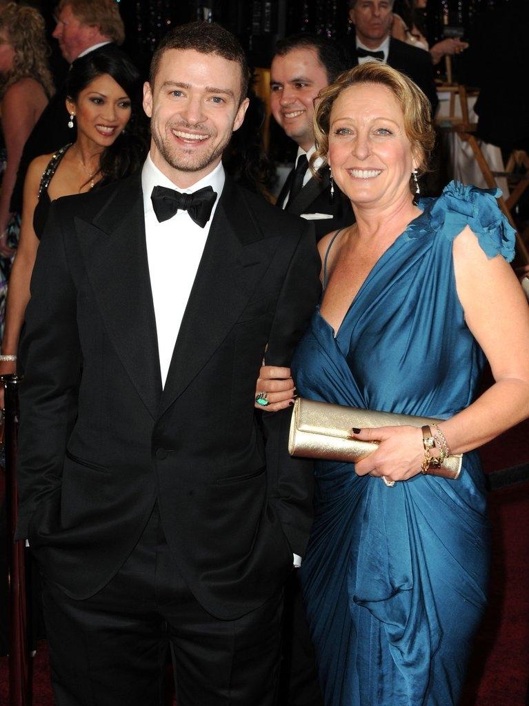 Џастин Тимберлејк со мајката Лин Харлес