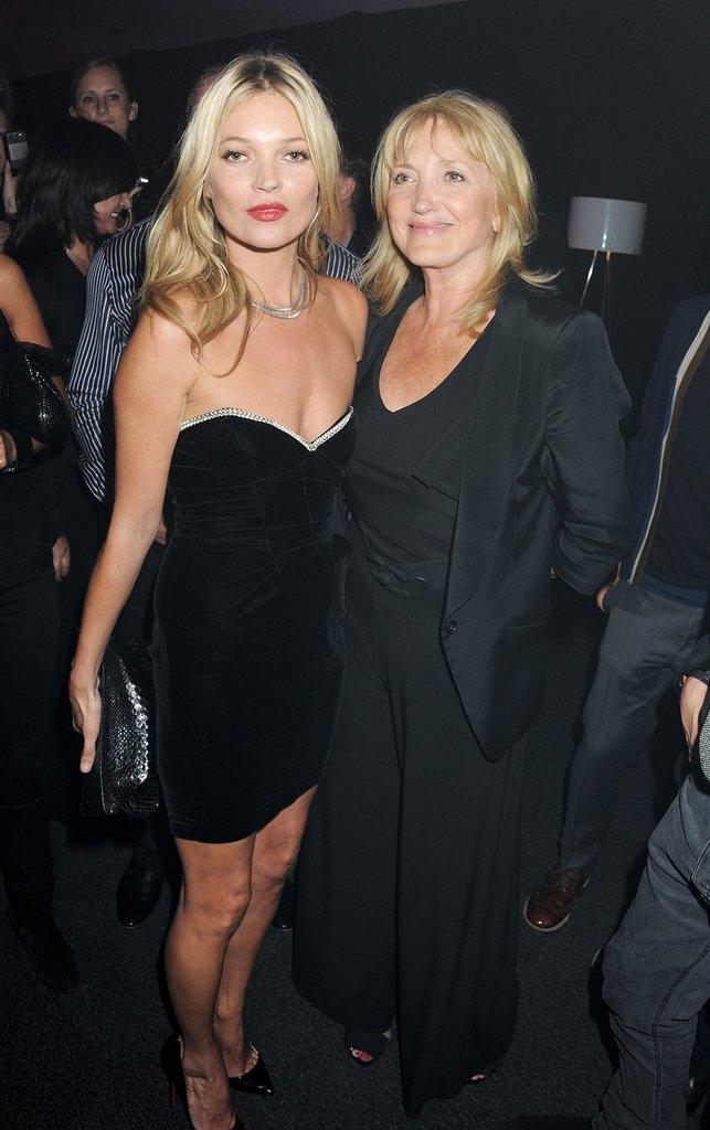 Кејт Мос со мајката Линда