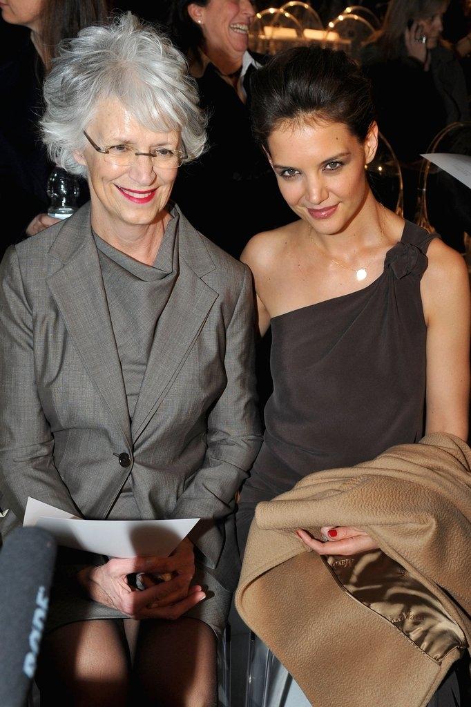 Кети Холмс со мајката Кејтлин