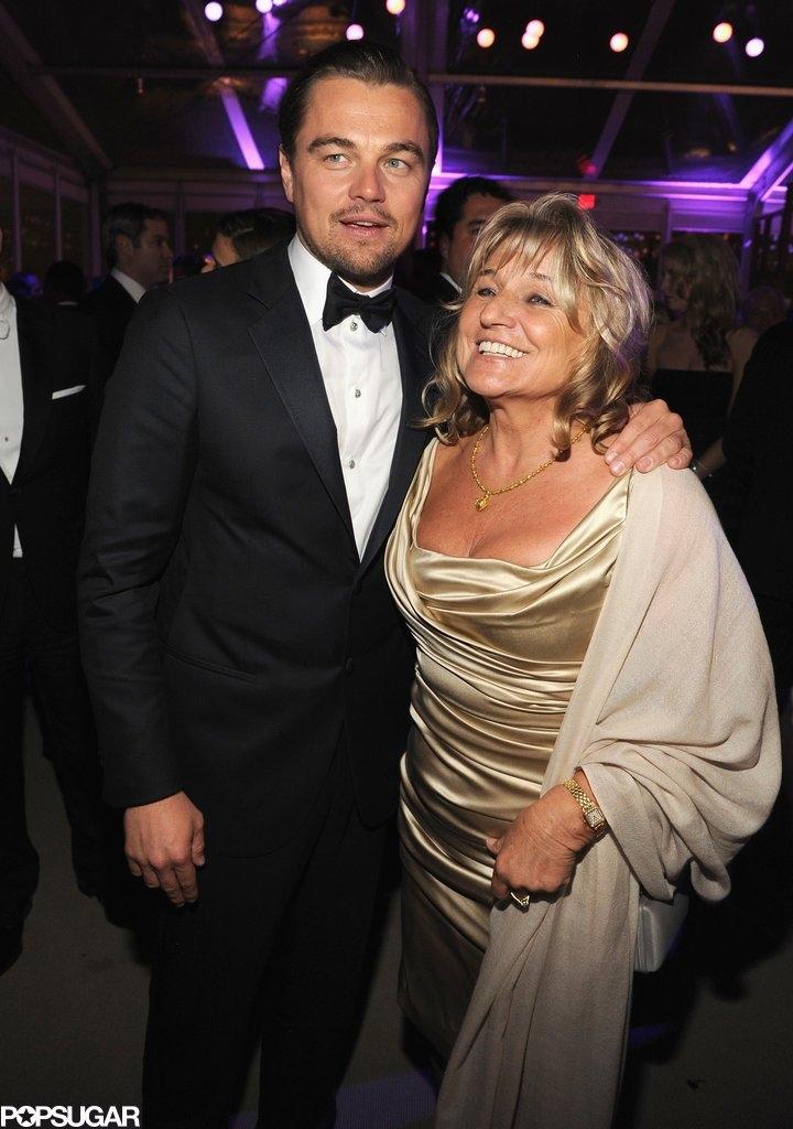 Леонардо Дикаприо со мајката Ајмерлин