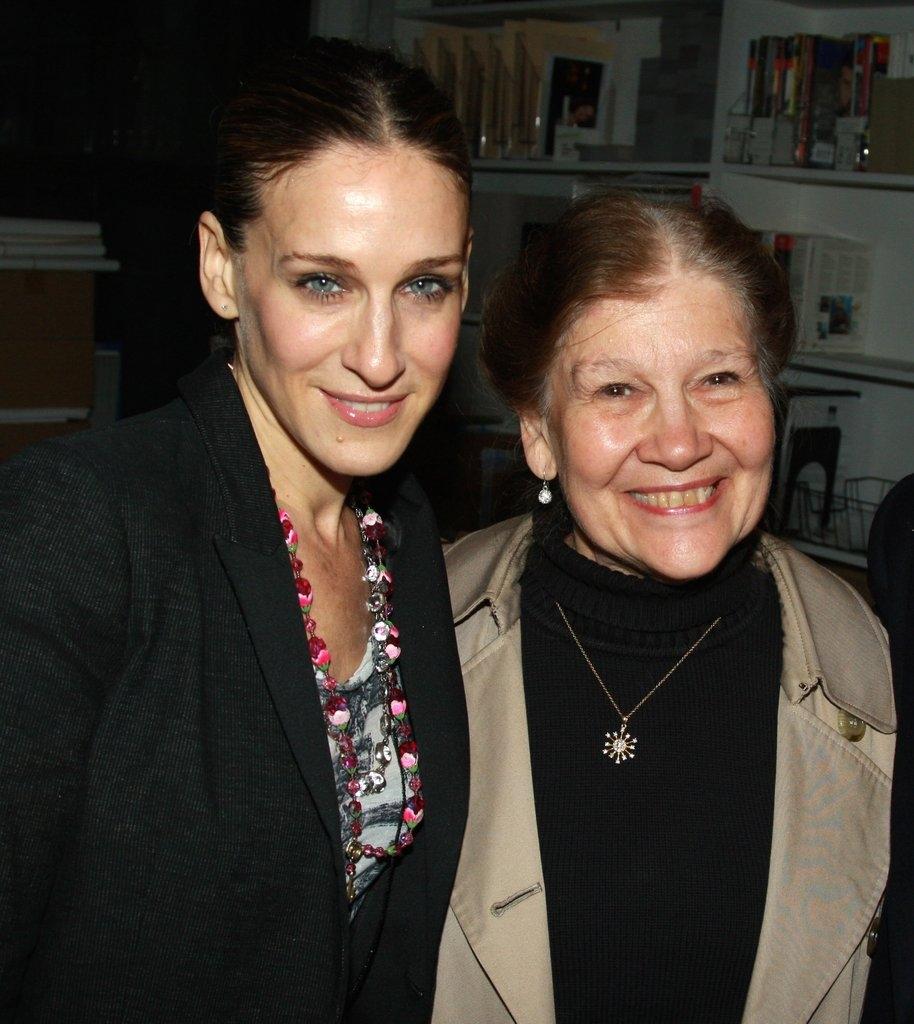 Сара Џесика Паркер со мајката Барбара Форсте