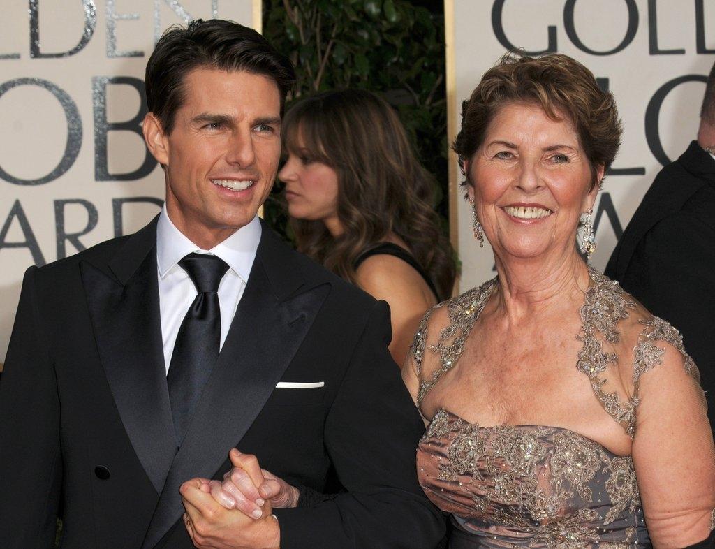 Том Круз со мајката Мери