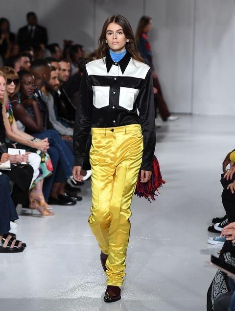 Каја Гербер - Calvin Klein Spring 2017