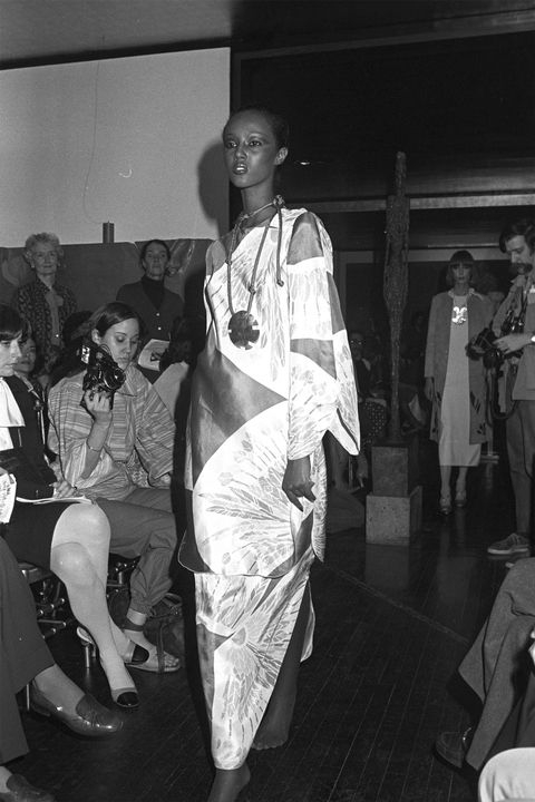 Иман -Mary McFadden Fall 1976