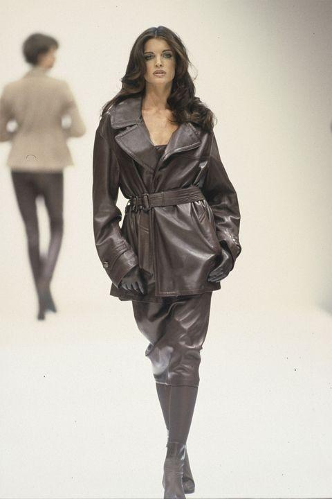 Стефани Сејмор - Jill Sander Fall 1992