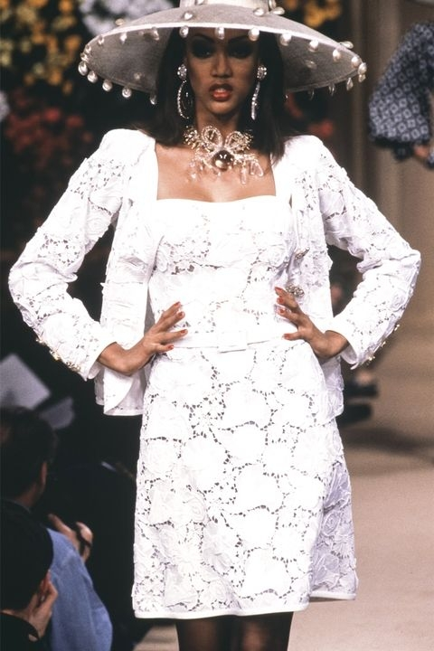 Тајра Бенкс - Yves Saint Laurent Spring 1992