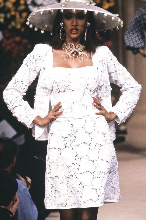Тајра Бенкс - Yves Saint Laurent Spring 1992