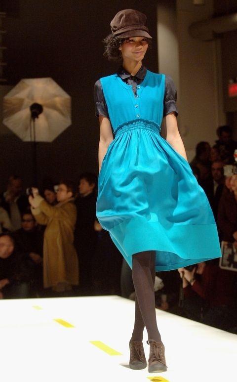 Шанел Иман - DKNY Fall 2006