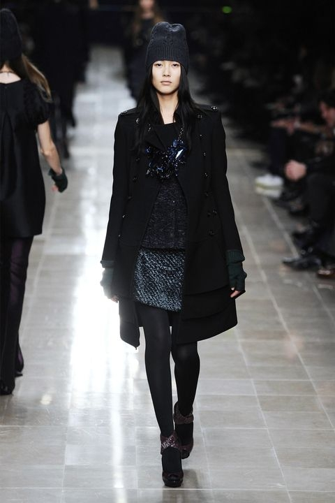 Лиу Вен - Burberry Fall 2008