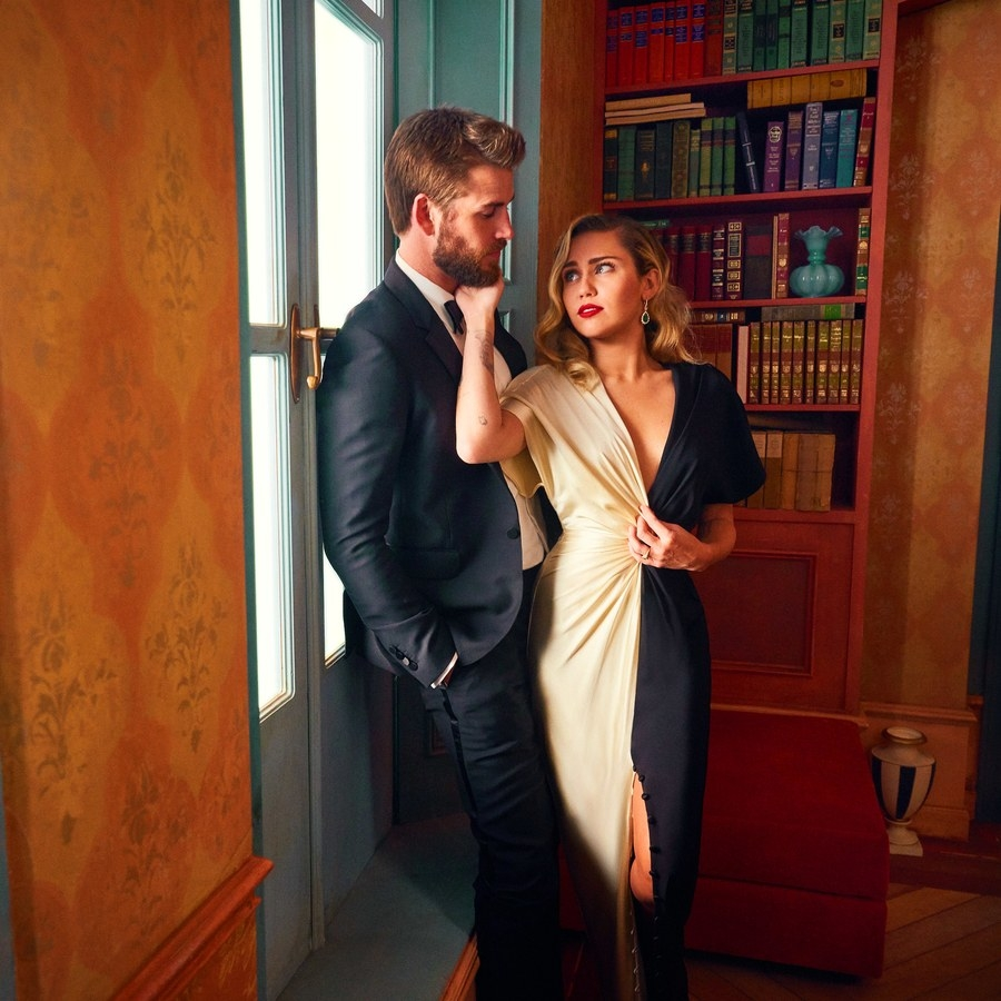 Miley Cyrus and Liam Hemswort