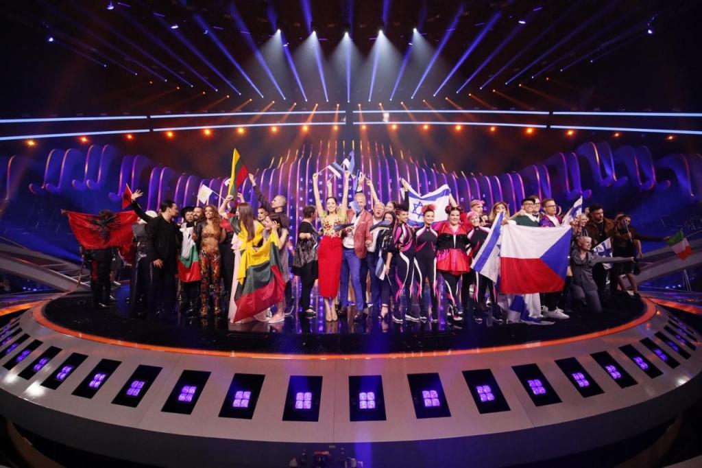 Евровизија 2018 - финалистите