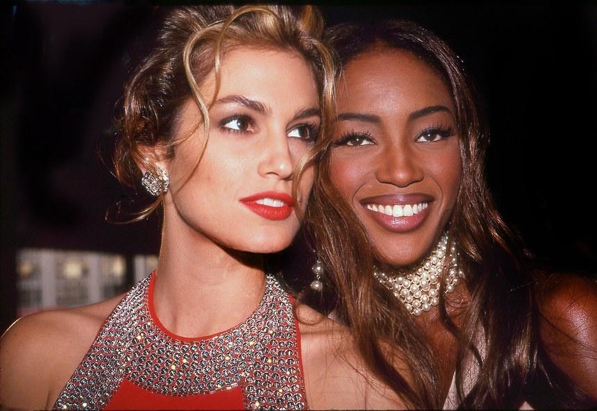 1992 со Синди Крафорд