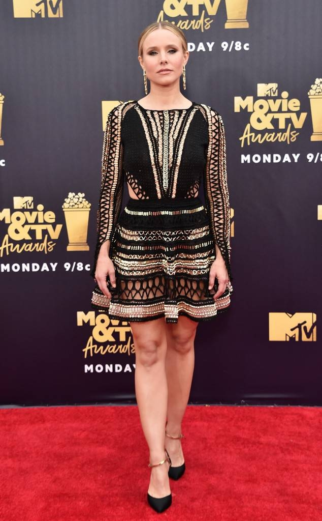Kristen Bell in Julien Macdonald