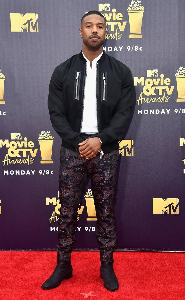 Michael B Jordan in Dsquared2