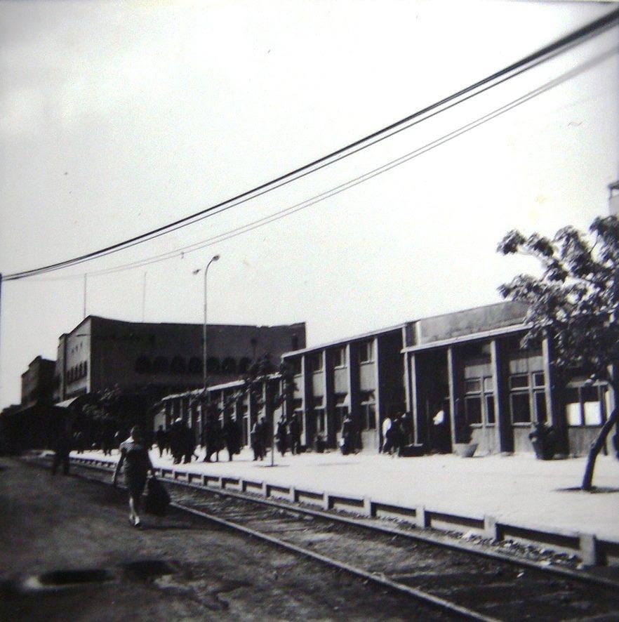 1963/64 - привремена железничка станица по земјотресот