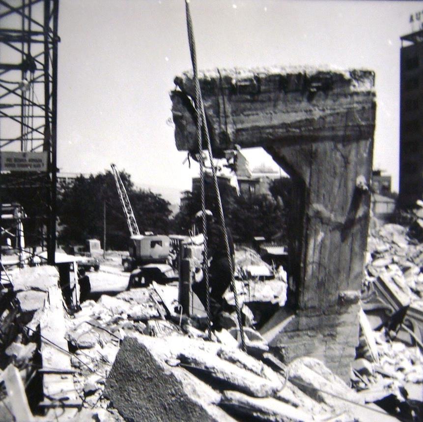 1963 - Железничка станица по земјотресот