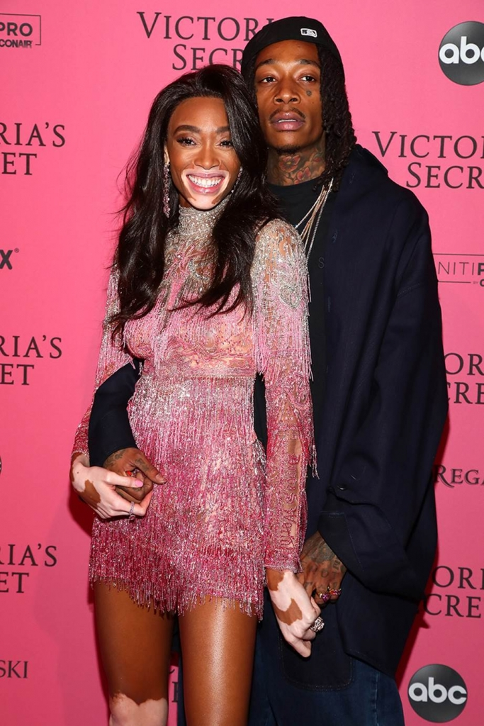 Winnie Harlow and Wiz Khalifa