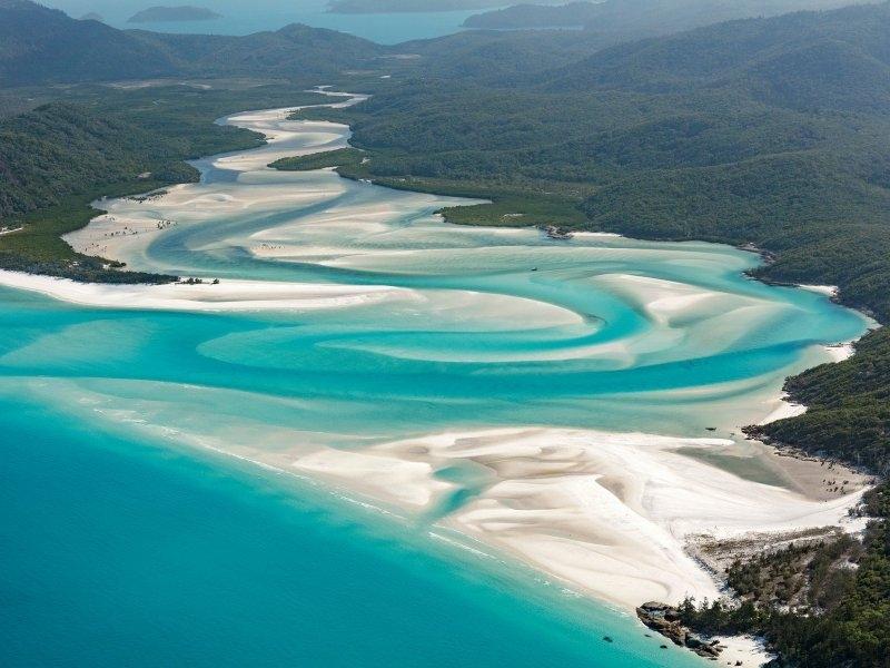 Whiteheaven beach, Австралија