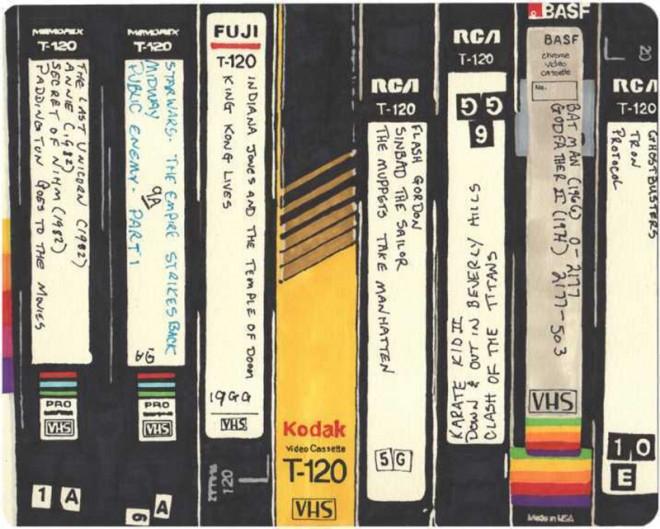 VHS - касети