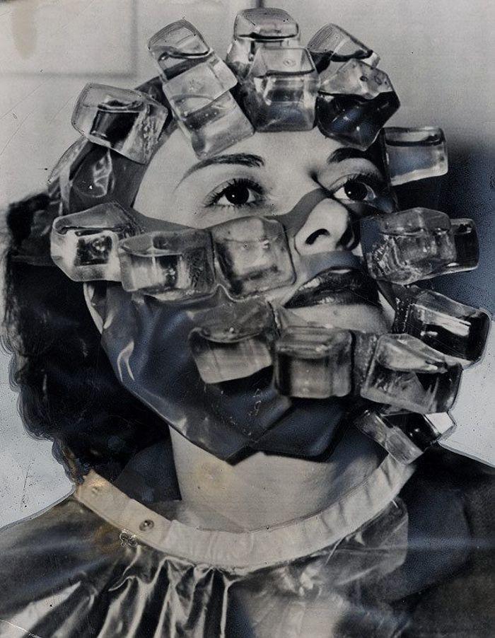 """Маска за лице со мраз од """"Макс Фактор"""" во 1931 година"""