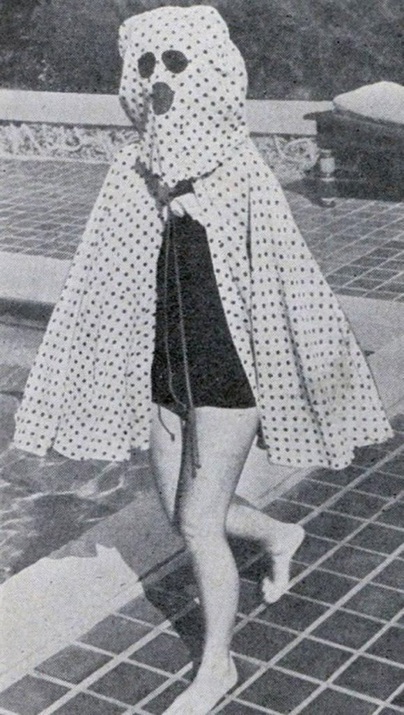 Вака изгледала заштитата од сонцето во 1940-тите