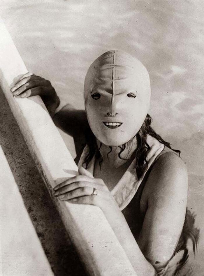 Маска која се користи при пливање, а користи за заштита од сонцето