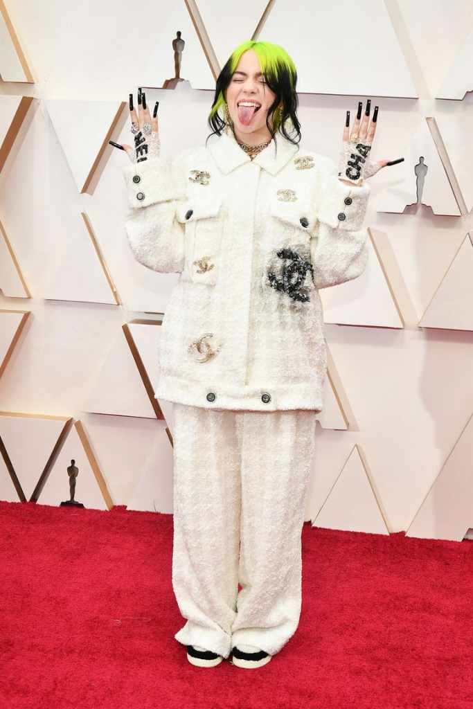 Џили Ајлиш во Шанел на Оскарите