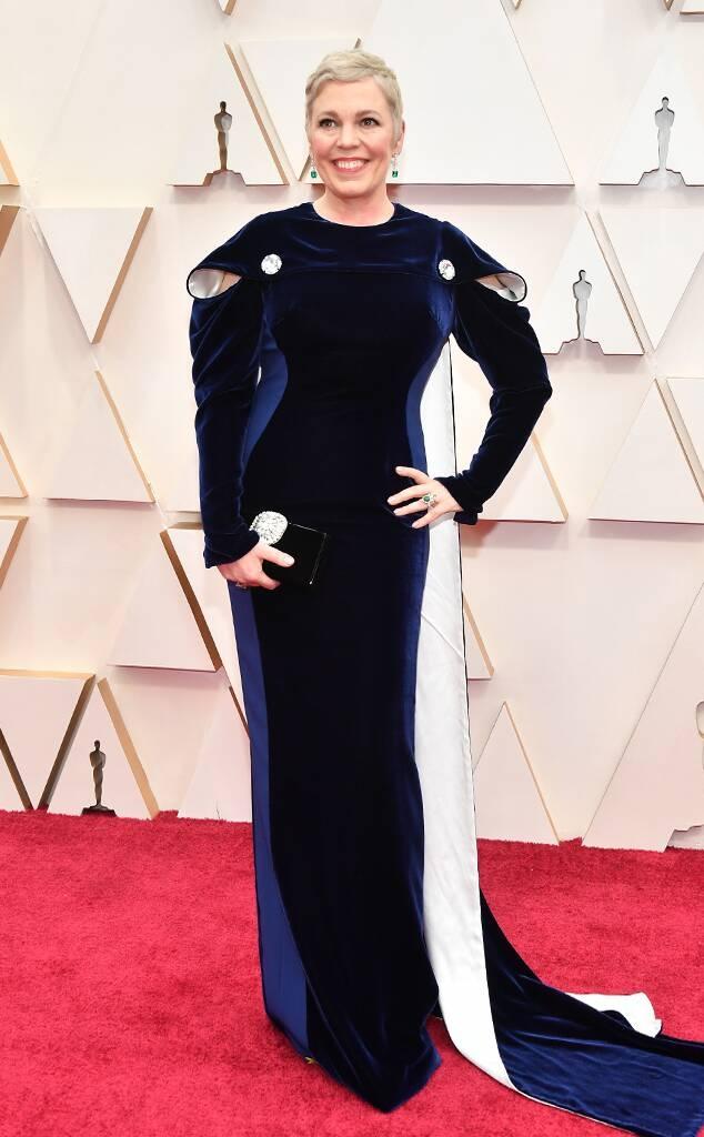 """Оливија Колман во Кристофер Кејн на """"Оскарите"""""""
