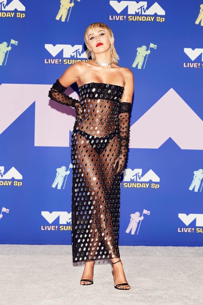 Мајли Сајрус на Музичките видео награди