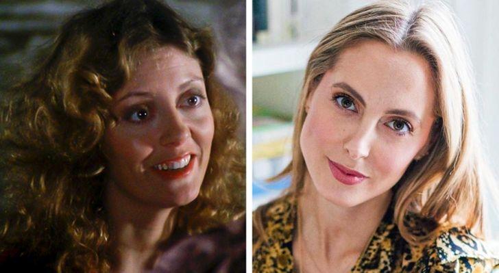 Сузан Сарандон и Ава Амури на 34 години