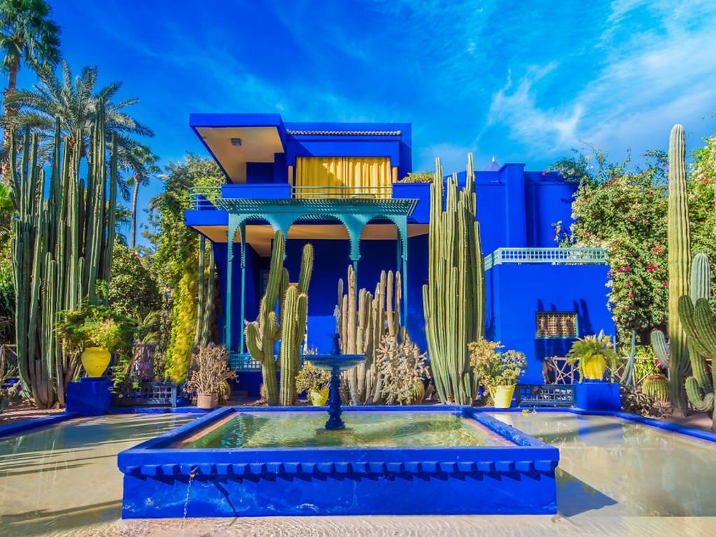 Ботаничката градина во Маракеш
