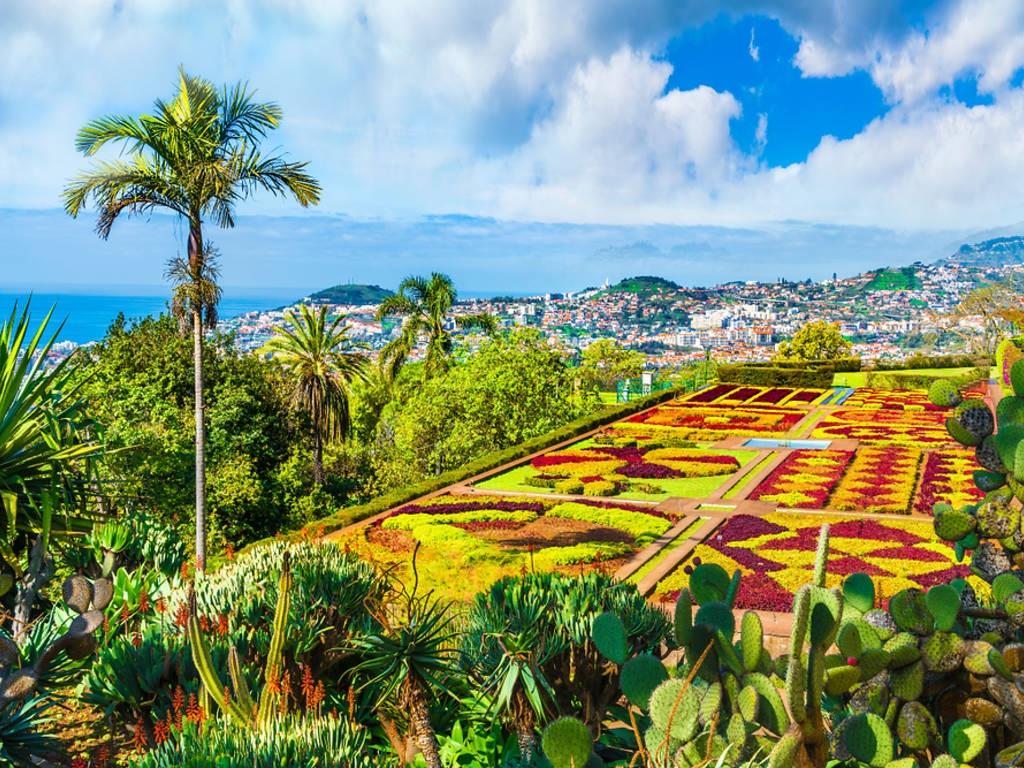 Ботаничката градина во Мадеира