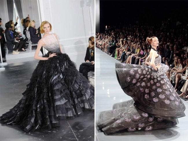 Диор haute couture, пролет 2012