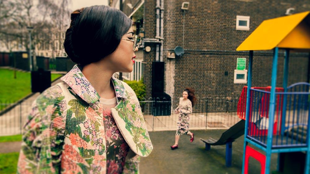 Фотографката беше ангажирана во проекти на последната модна недела во Лондон