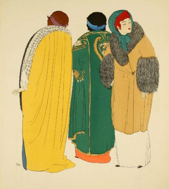 Paul Poiret 1908 Illustration