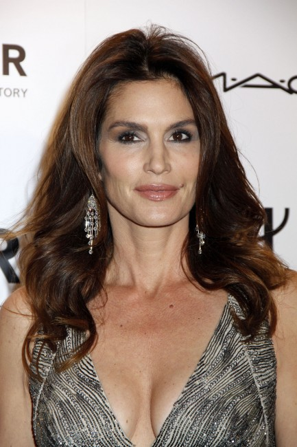 Cindy Crawford at amfAR New York Gala