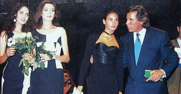 Казабланкас со Инес Састре, победничка на Елитовиот избор во 1989 година