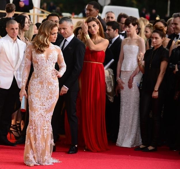 Џенифер Лопез во фустан на Мурад на доделувањето на Златен глобус 2013