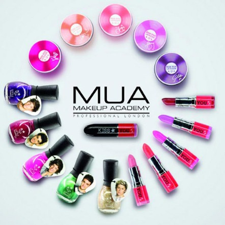 One Direction за MUA make up