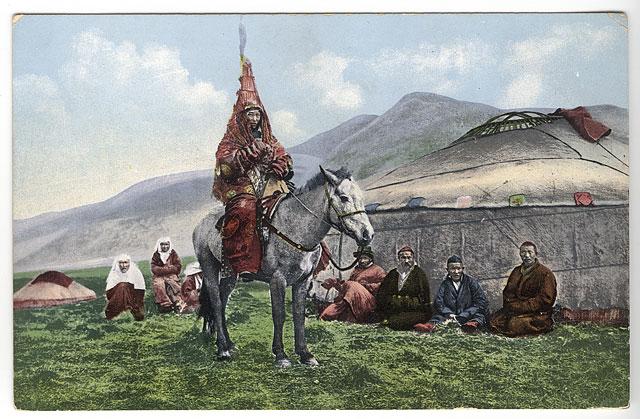 Венчавка во Казахстан во периодот од 1911-1914 год