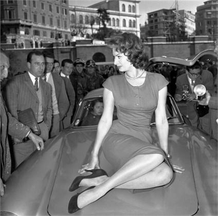 Софија Лорен во Рим 1956 година